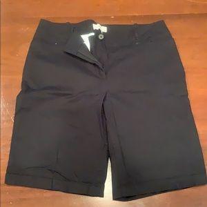 Talbots Bermuda shorts size 12